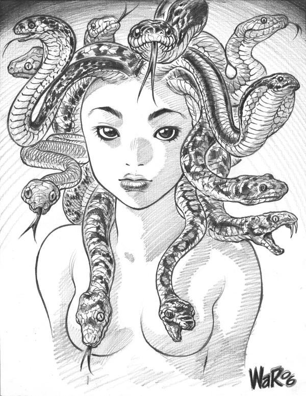 Go Back gt Gallery For Medusa Drawing Tumblr