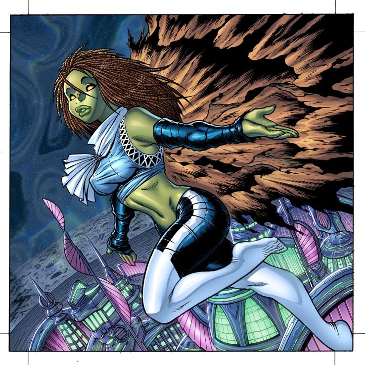Marvel's TONAJA by AdamWarren