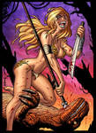 Marvel's SHANNA, in color