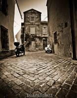 Rimini: Fellini Street by blueanto