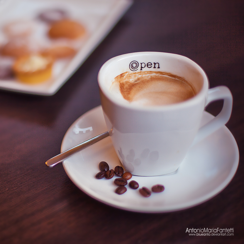 Opencafe' Espressino by ~blueanto