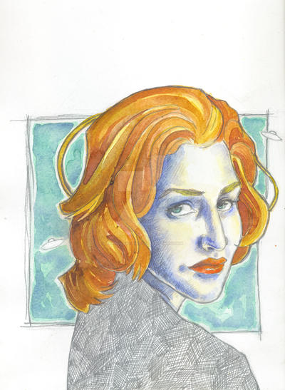 Scully by turbulentoast