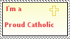 Catholic Stamp by iLoveMyMom