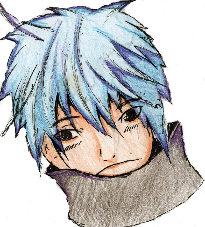 anime guy by KiloOtaku
