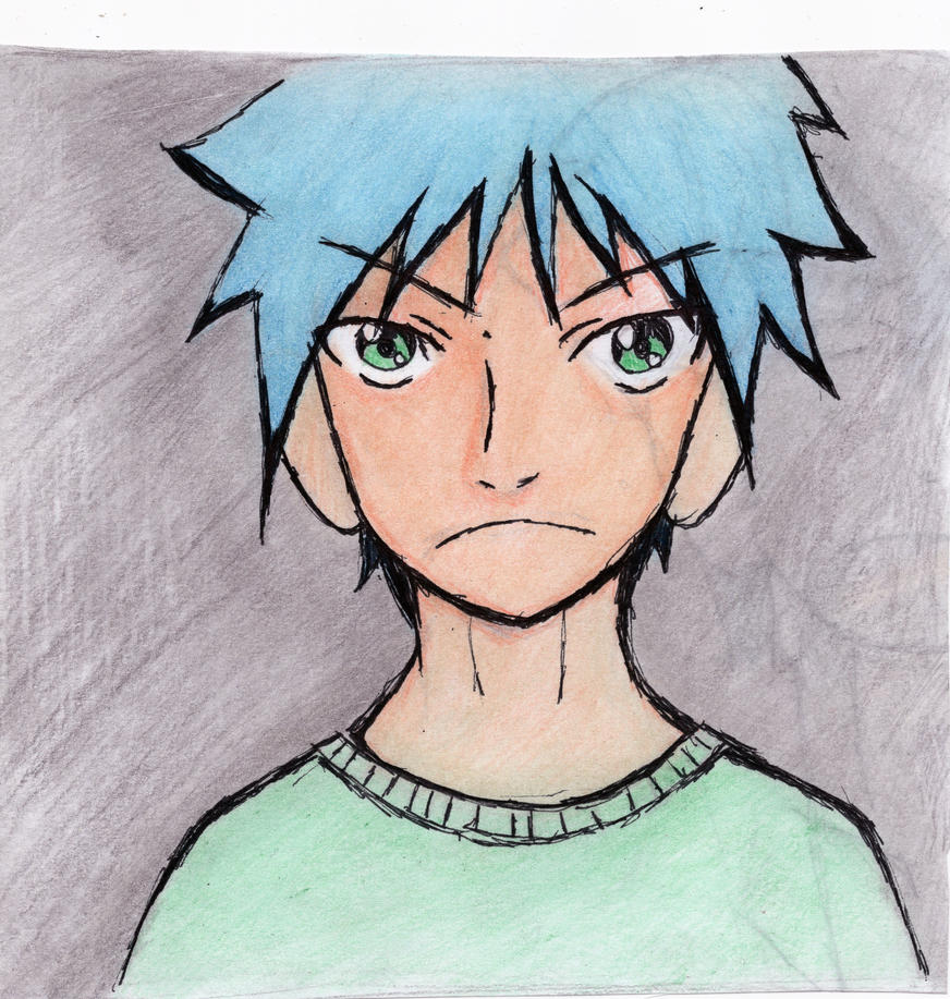 Anime Guy 2 by KiloOtaku