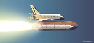 Space Shuttle Endeavour by Firmato