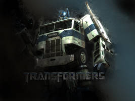 optimus Prime wallpaper by Firmato