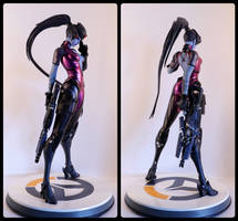 Widow Maker Statue from Overwatch