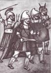 III century BC warriors