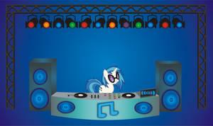 Vinyl Scratch  In Full DJ Booth