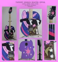 Twilight Sparkle Electric Guitar