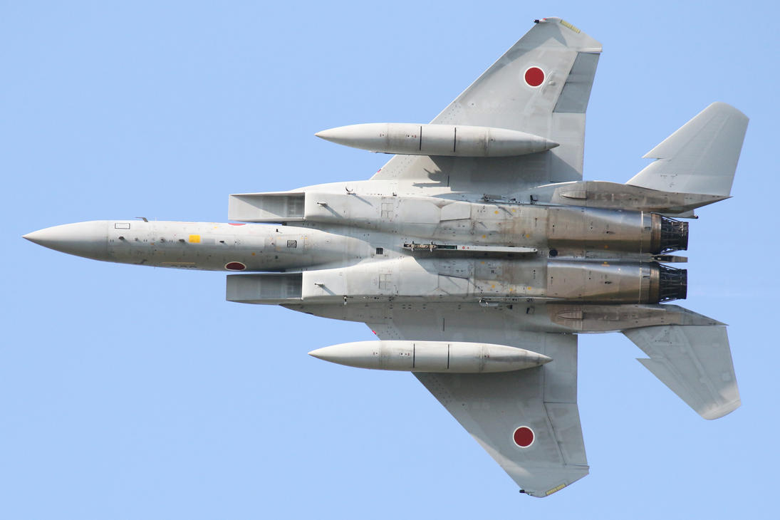 Mitsubishi F 15j Eagle By Ddmurasame On Deviantart