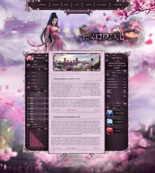 Exodial Website design