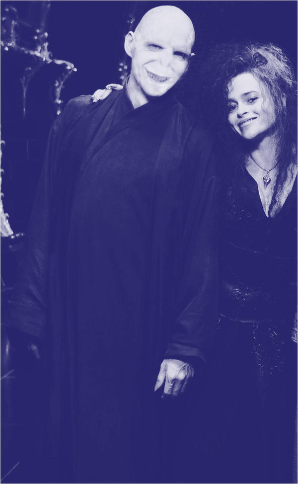 Voldemort and Bellatrix lovely by BloNdeAngel4you on ...
