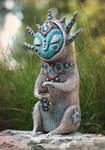 Gatherer of morning dew by MaryanaKopylova