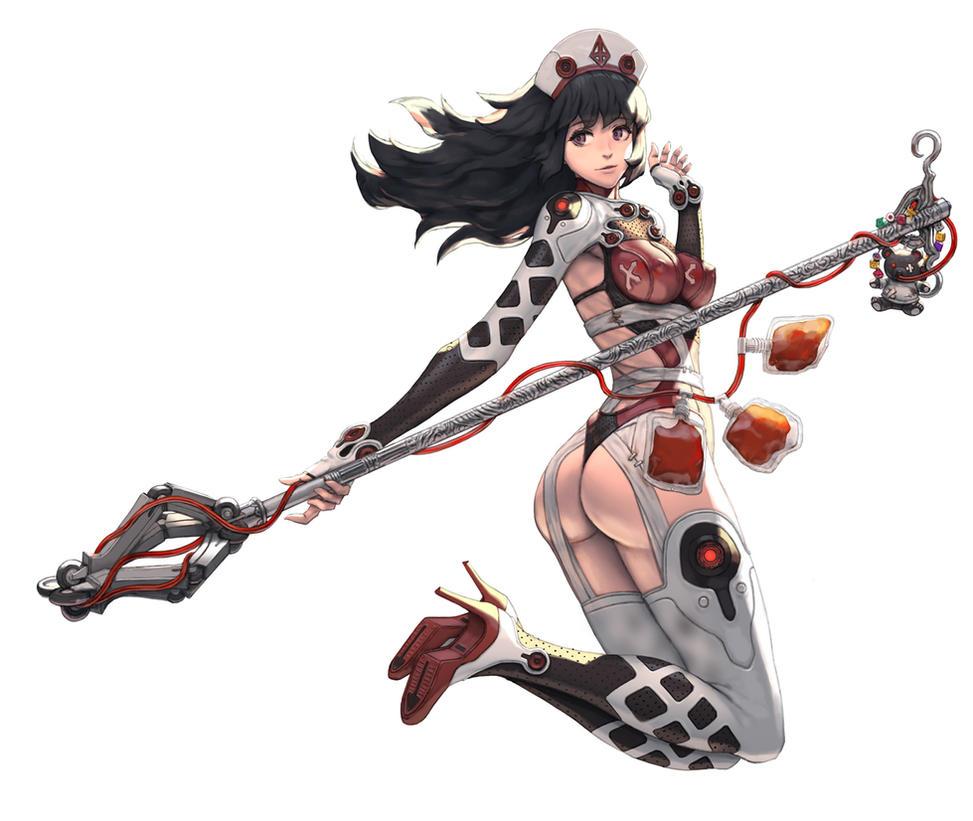 Blood Nurse(Girl003) by U-RA-CIL