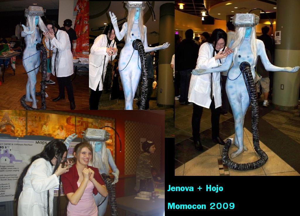 Jenova Hojo Momocon 2009 by Moi-Dix-Jasdero