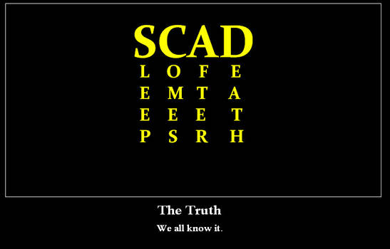Real SCAD