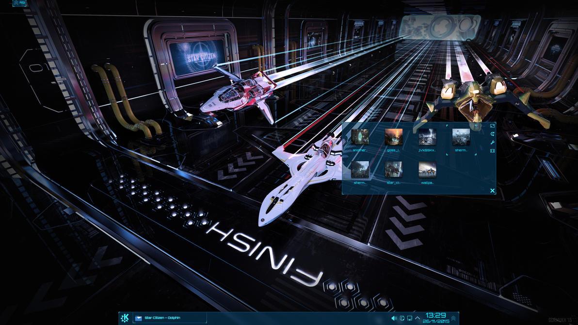 Star Citizen Plasma 5 Desktop by half-left