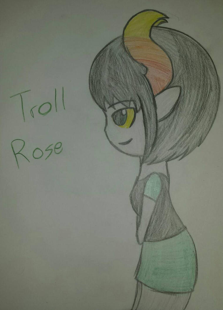 Troll!Rose by xtrolldavestriderx