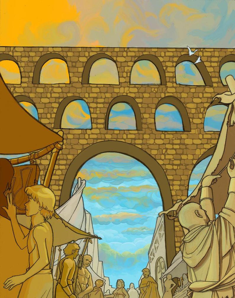 Aqueduct by TsukiNoMilkshake