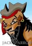 Jack Sparrow lion-ized