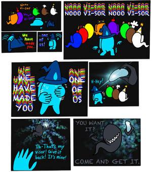 Among Us No-Visor Comic Part 5