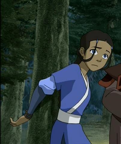 airbender Avatar up last tied the katara