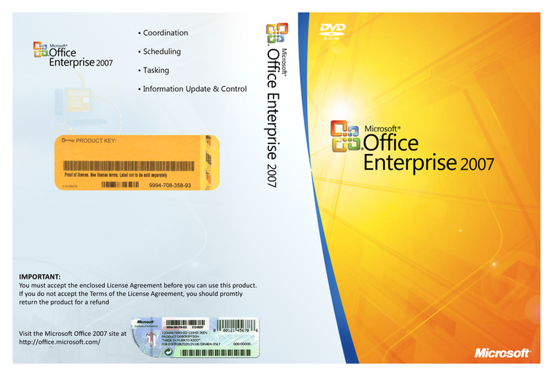 office enterprise 2007  Microsoft Office 2007 Cover by 93matt93 on DeviantArt