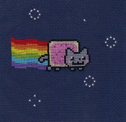 Nyan Cat by Awenmir