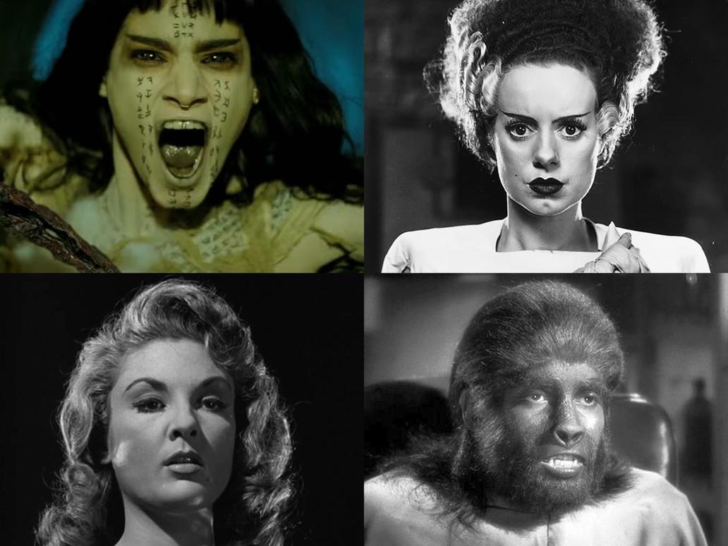 My favorite Movie Monsters by AntonioAlexisHuerta