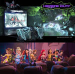 Hero's Duty Disney Princess edition