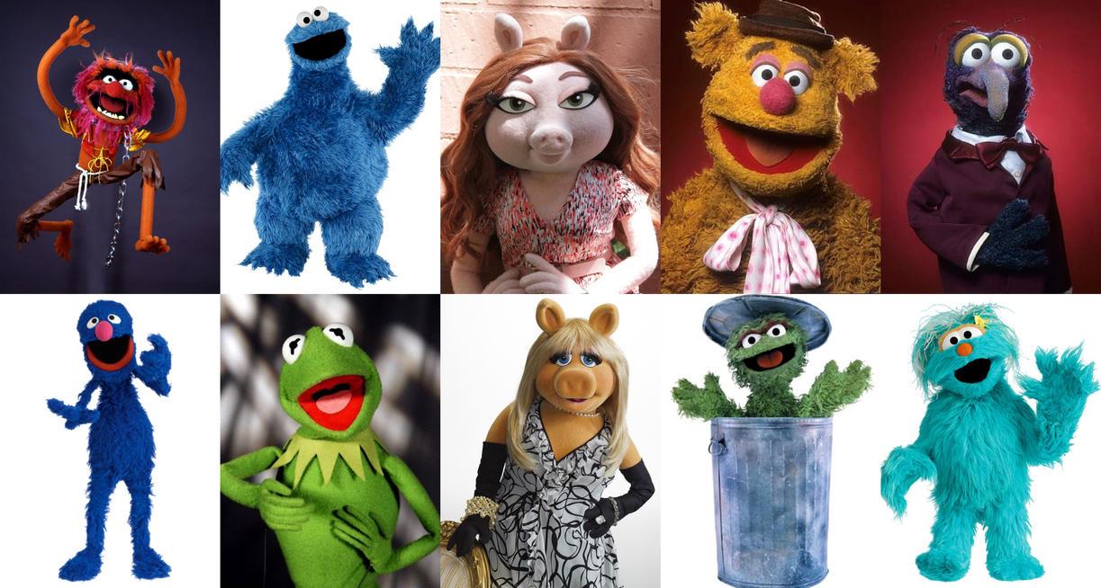 My 10 favorite Muppets by AntonioAlexisHuerta