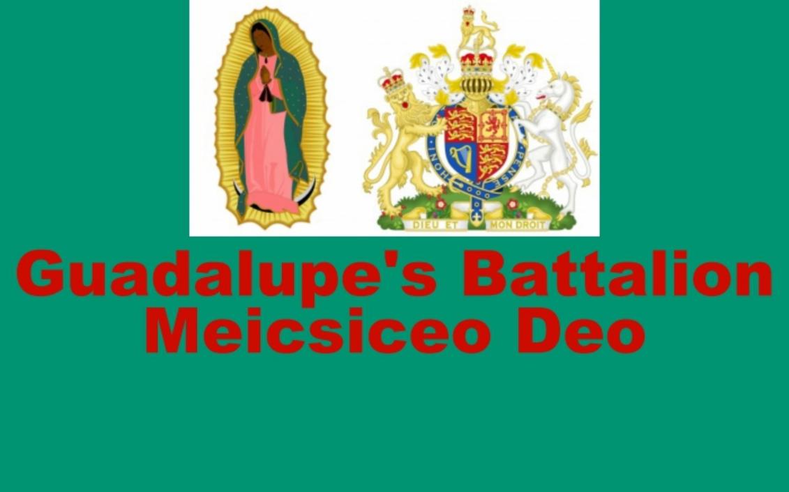 Guadalupe's Battalion Flag by AntonioAlexisHuerta