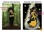 Before and After Katniss
