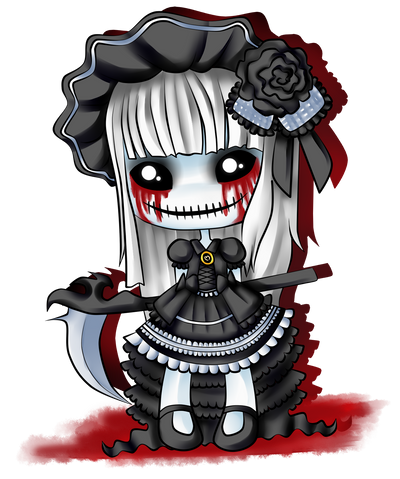 Creepy Doll by royo22 on DeviantArt