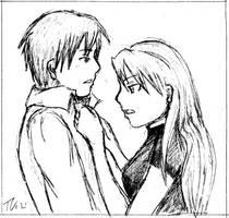 Roy and Riza by tviki