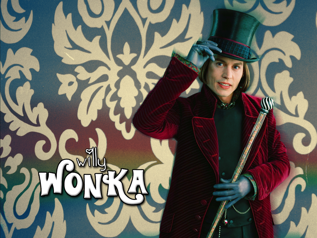 willy wonka wallpaper by frodos