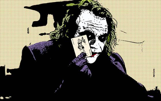 Joker pop-art