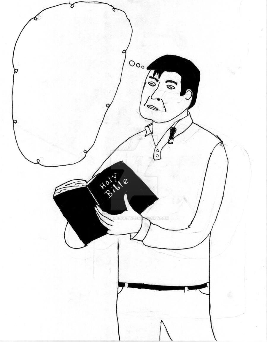 Bible man by StarredDust on DeviantArt