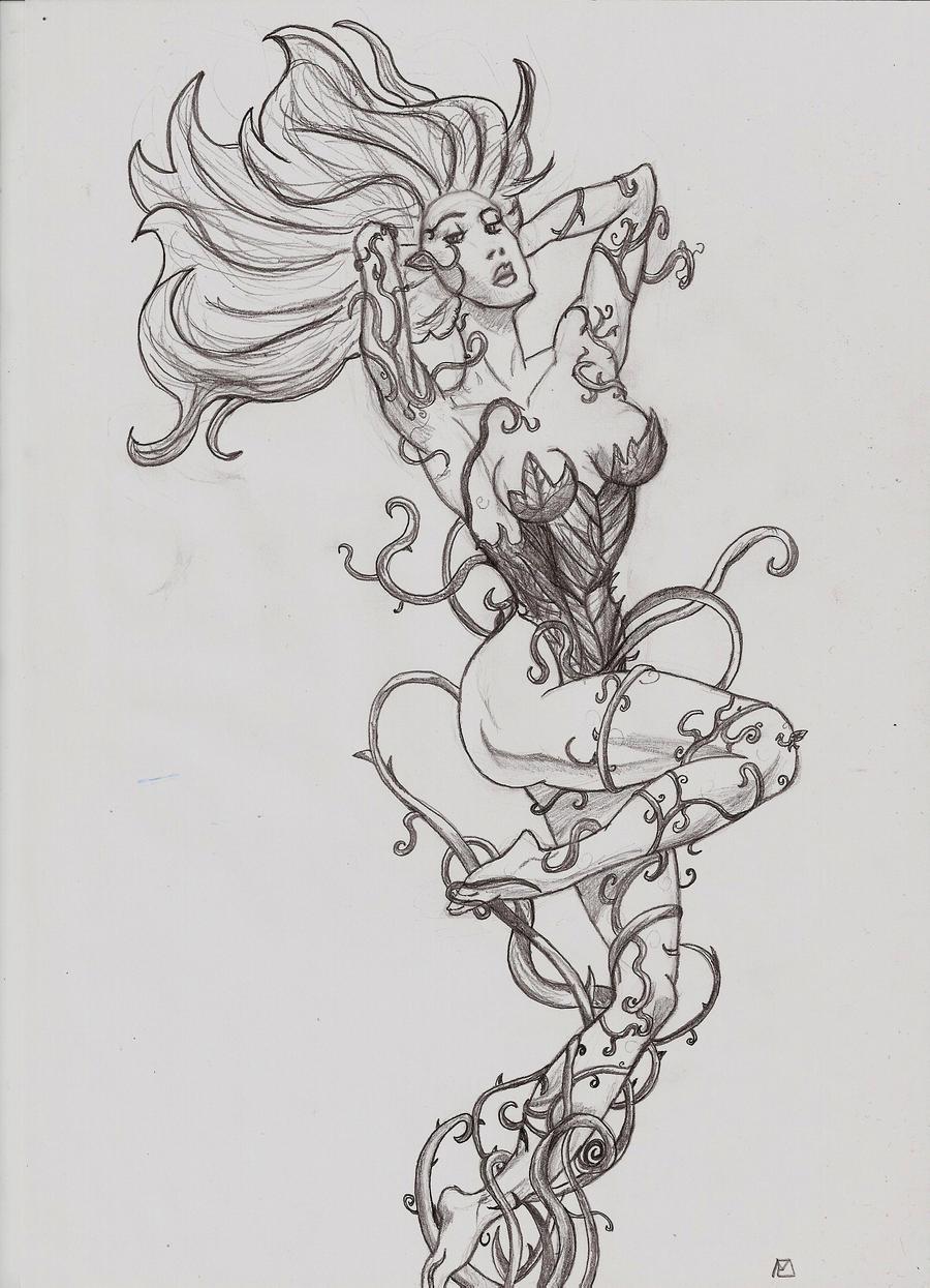 Batman - Poison Ivy by GreenTurtle666 on DeviantArt