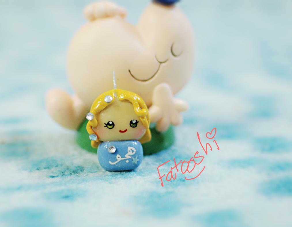 cutest doll by fatooshi