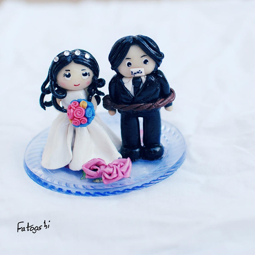 bride and the bridegroom by fatooshi