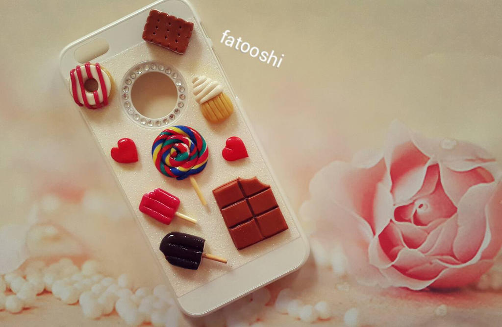 chocolate case i phone by fatooshi