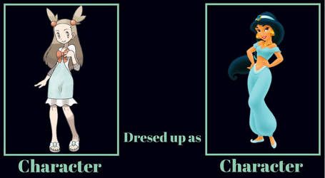 What if Jasmine Dressed Up as Jasmine?