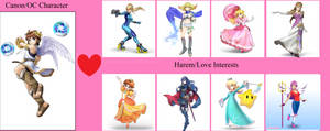 Pit's Love Interests