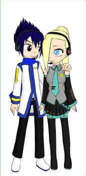 Cosplay #6: Sasuke and Ino as Vocaloids