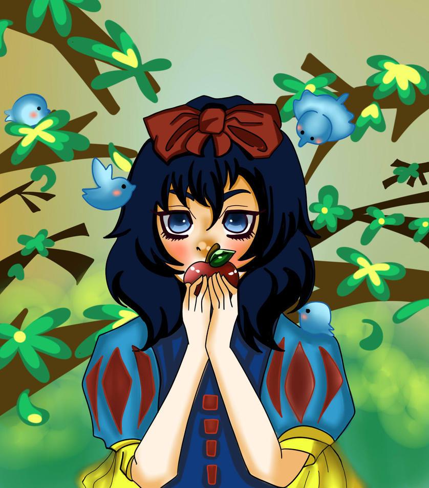 Snow White : Disney by yansenwijaya