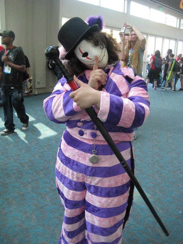 Gray Face Paint Cosplay