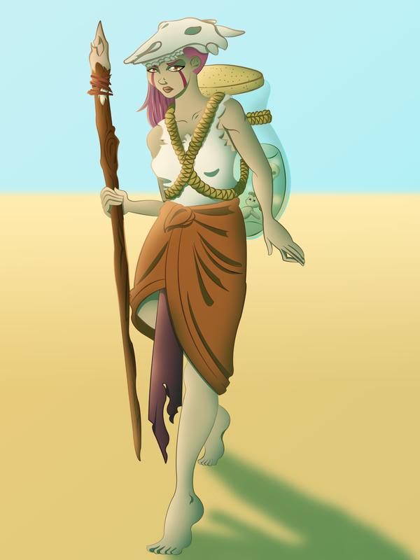 Desert Shaman by strawberry-ninja